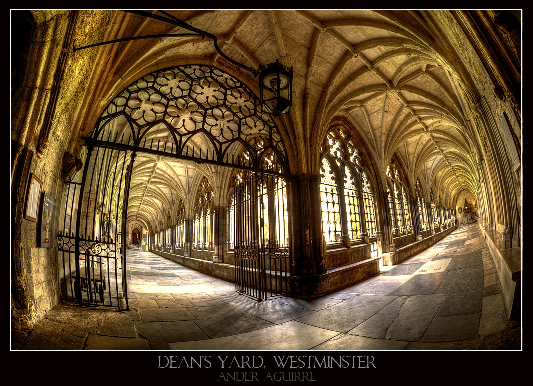Photograph Cloister by Ander Aguirre on 500px