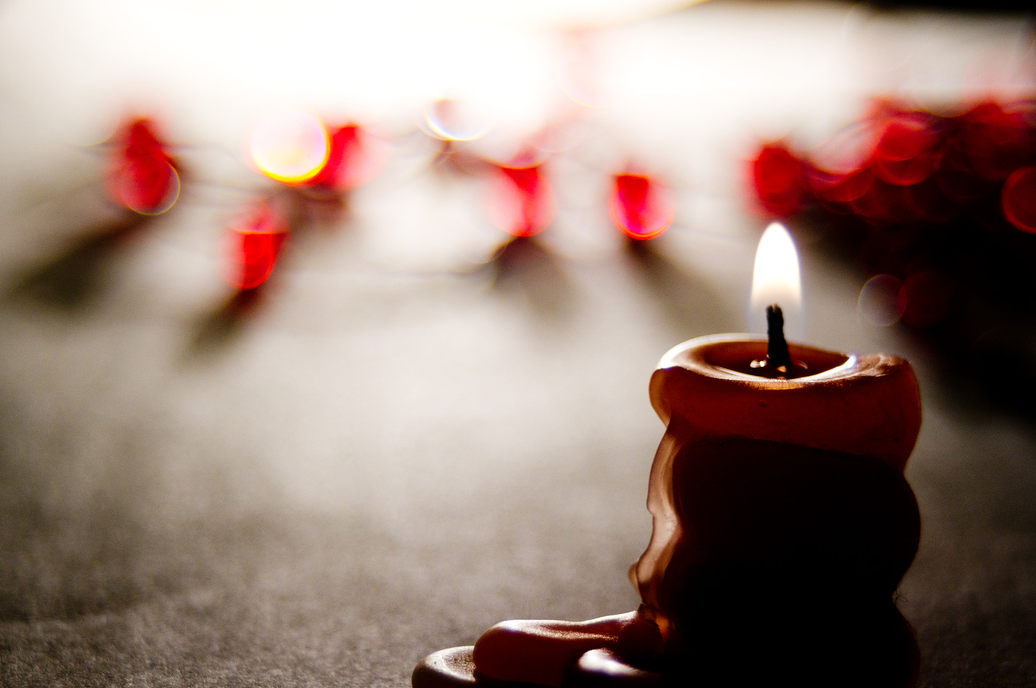 Photograph red candle by Linara Khis on 500px
