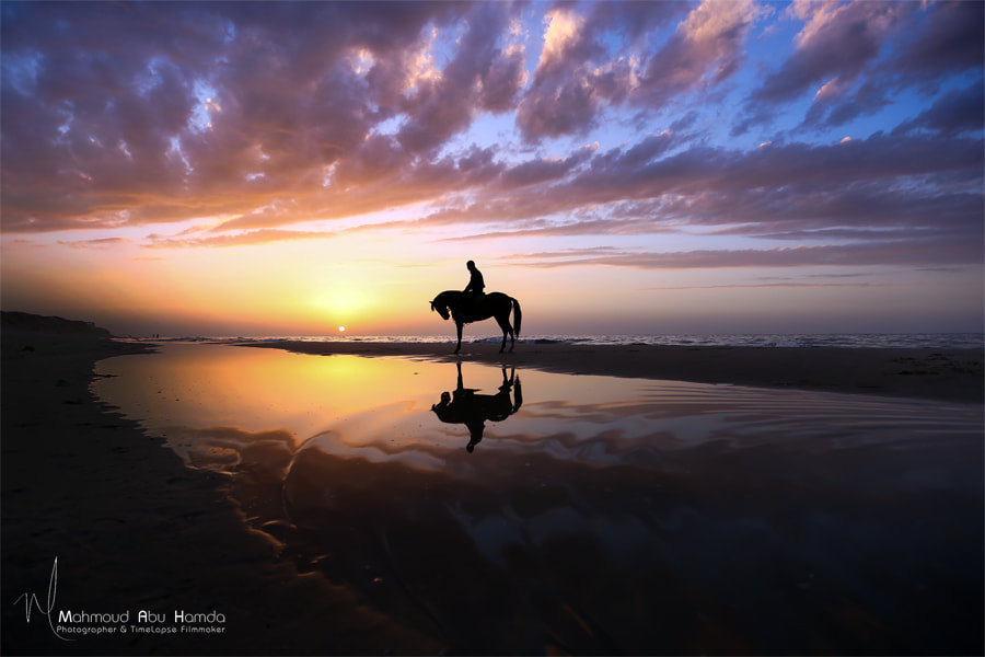 sunset by Mahmoud abu hamda on 500px.com