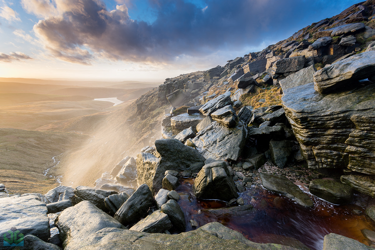 Photograph Kinder Downfall Sunset by James Grant on 500px