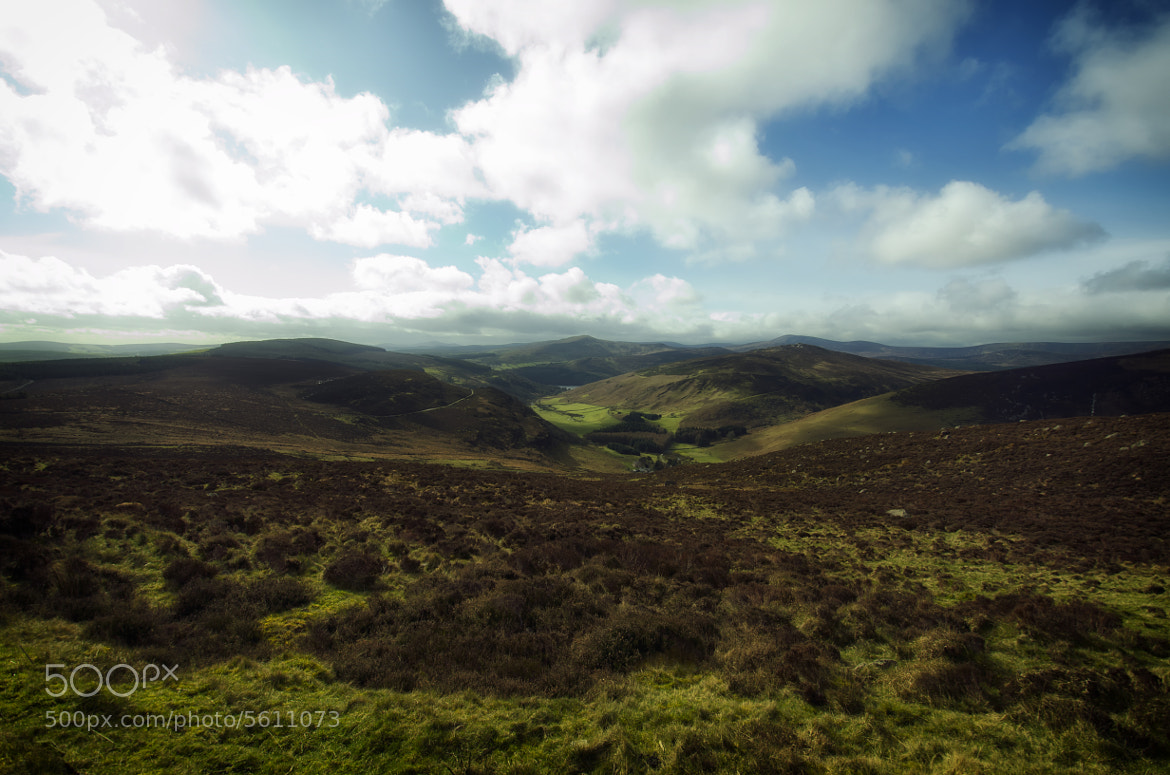 Photograph Wicklow Hills by Stephen Butler on 500px