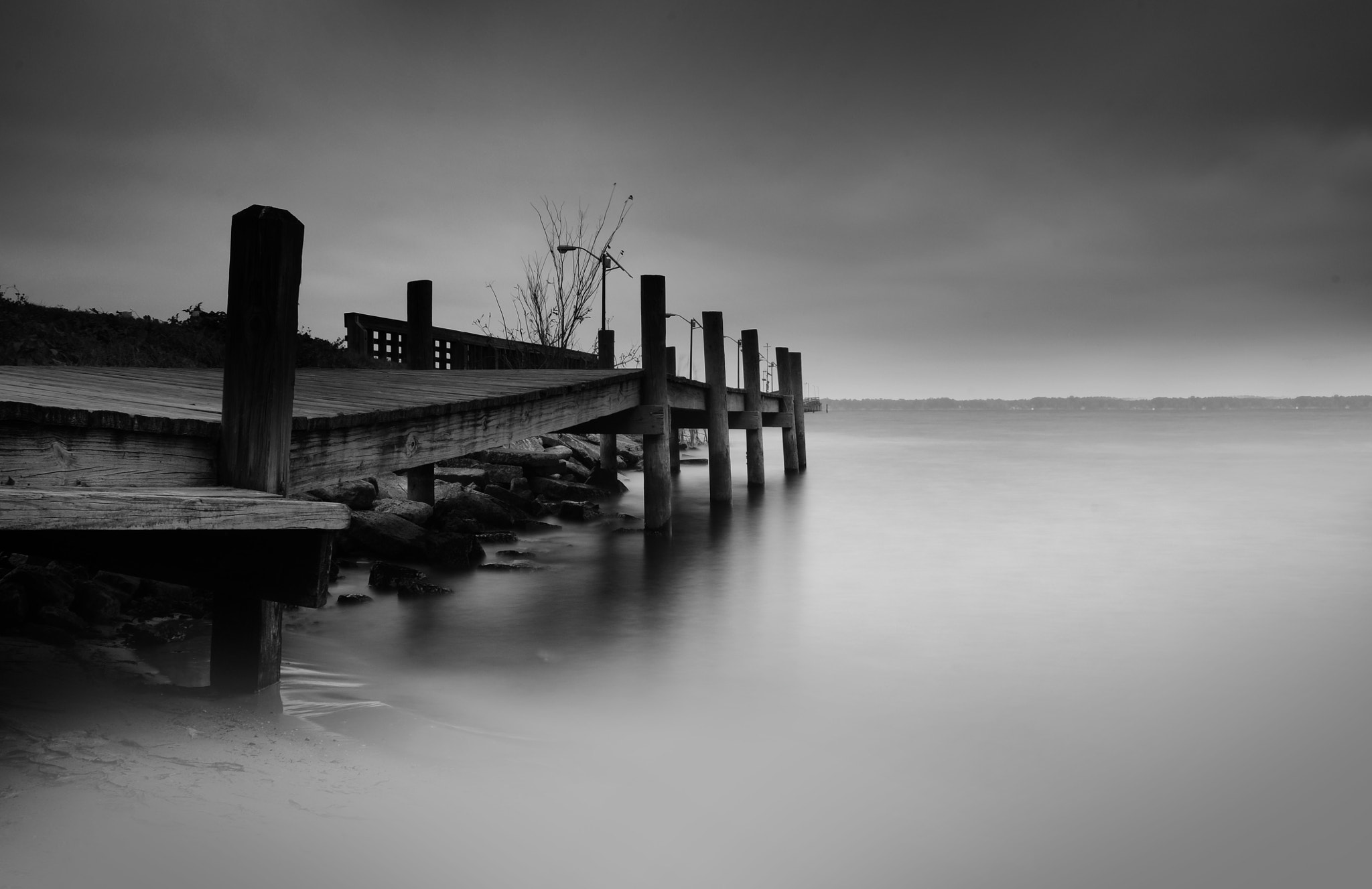 Photograph The Bent Dock by Enkased  on 500px