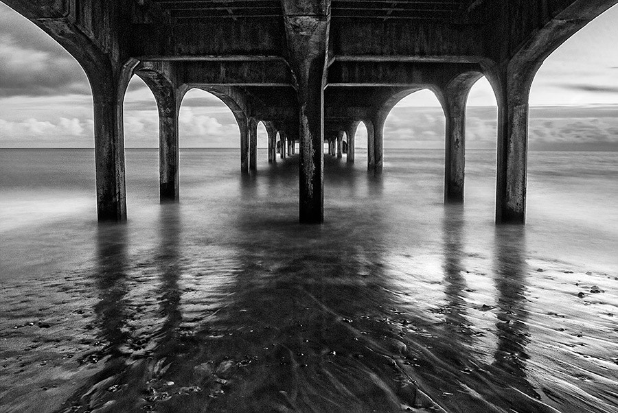 Photograph Under the pier by Youcef Bendraou on 500px