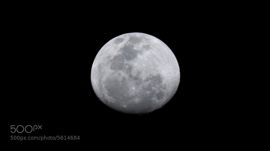 Waxing Gibbous 83%, on Monday 5, March 2012.