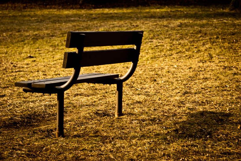 Photograph lonely bench by Nicole Rozario on 500px