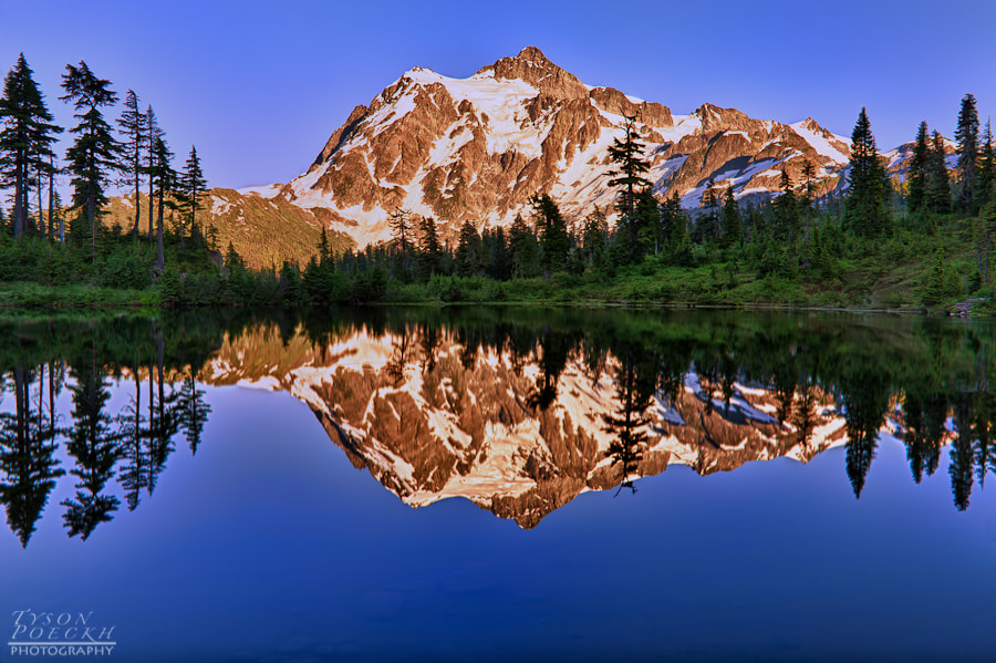 Photograph Mount Shuksan by Tyson Poeckh on 500px