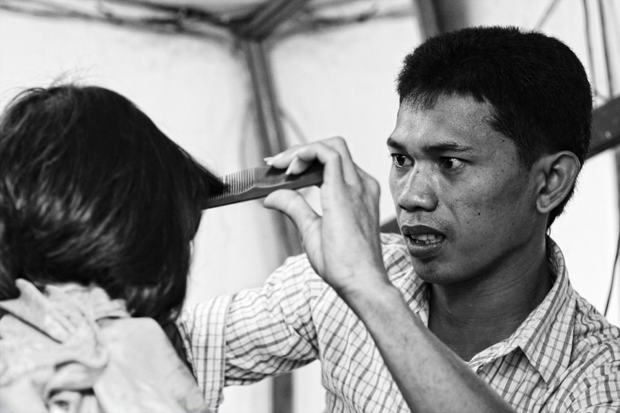 Photograph kid's barber by rois effendi on 500px