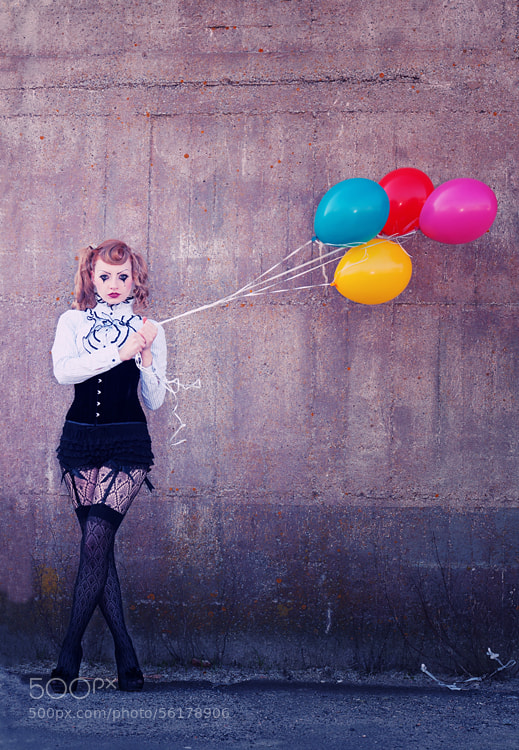 Photograph Balloons by Sabine Rosch on 500px