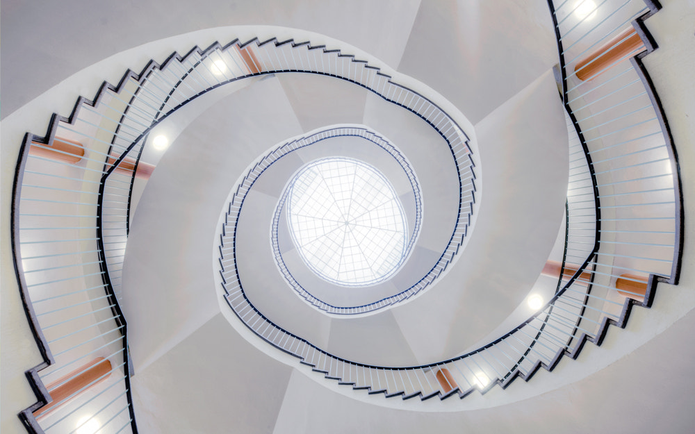 Photograph modern light staircase by Christian Richter on 500px