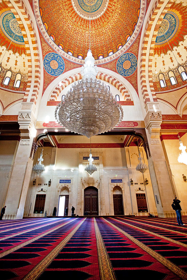 Photograph Inside the Mosque by Wael Massalkhi on 500px