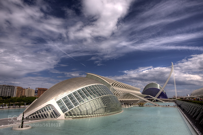 Photograph City of Arts & Sciences by Vicent de los Angeles on 500px