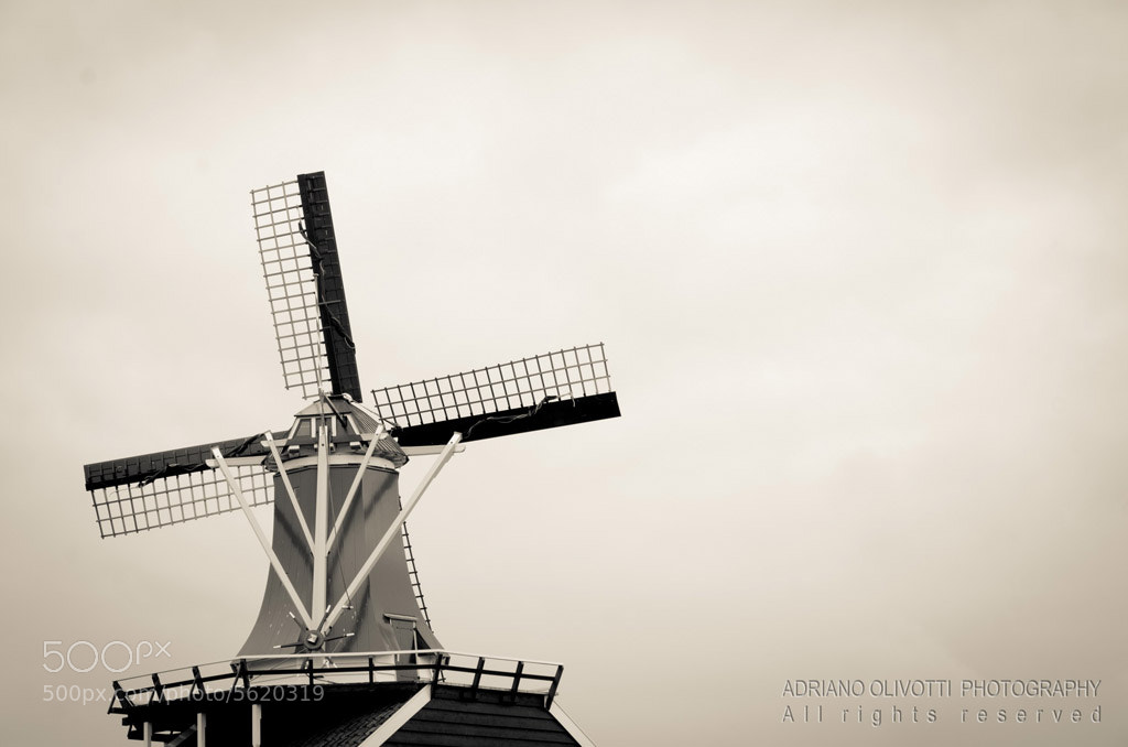 Photograph Windmill by Adriano Olivotti on 500px