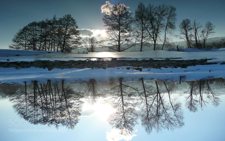 Photograph Winter reflection by Martin Zeinelov on 500px