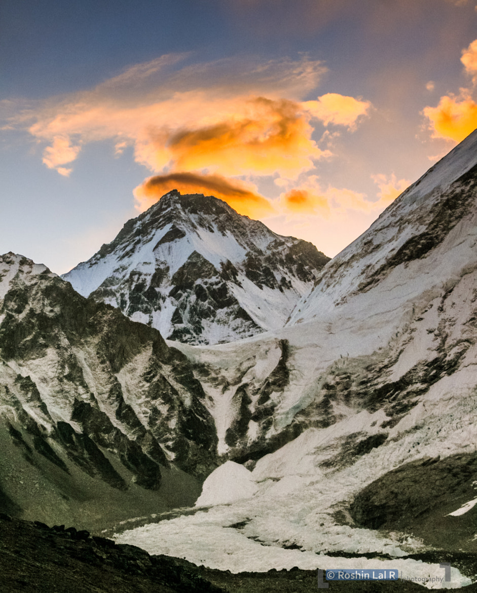 Photograph Sunrise on Mount Everest by Roshin Ramesan on 500px