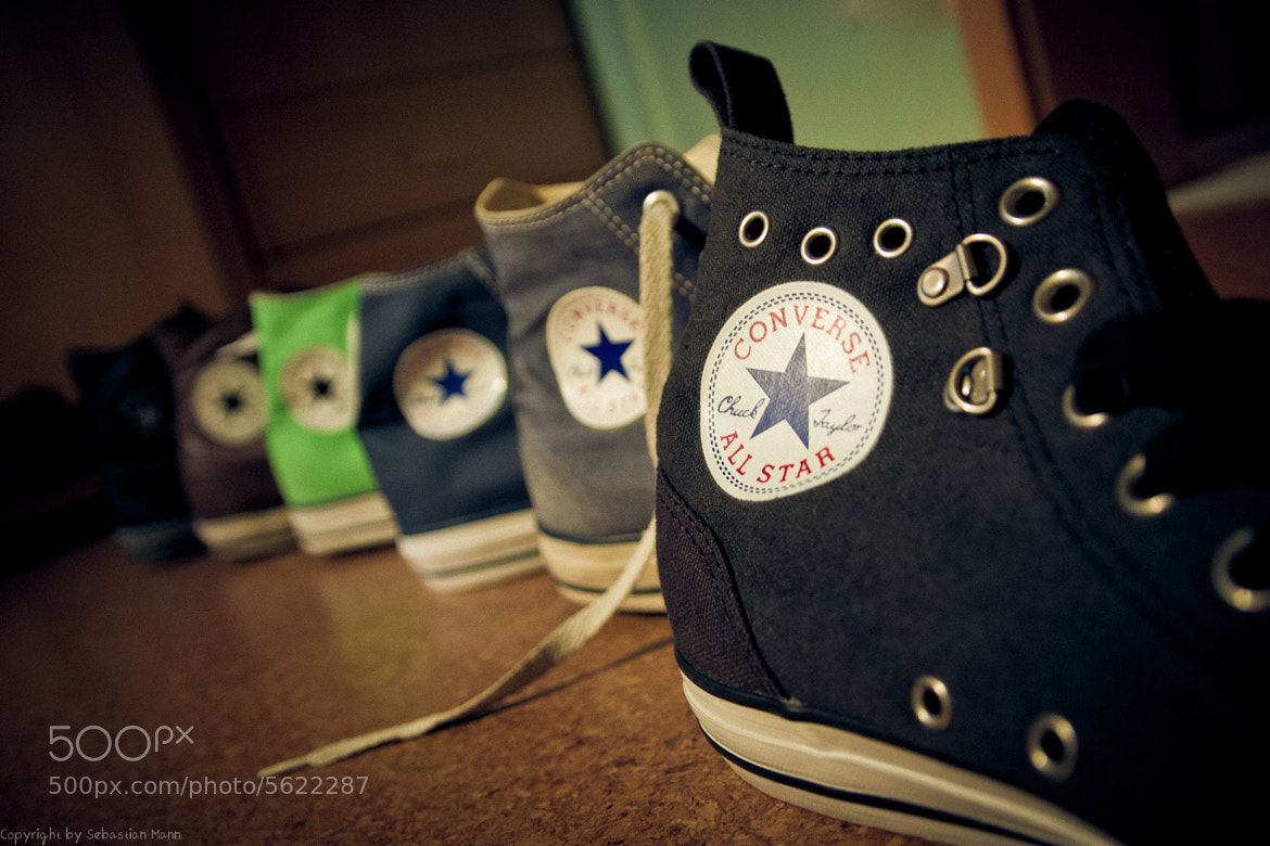 Photograph Love my chucks.. by Sebastian  on 500px