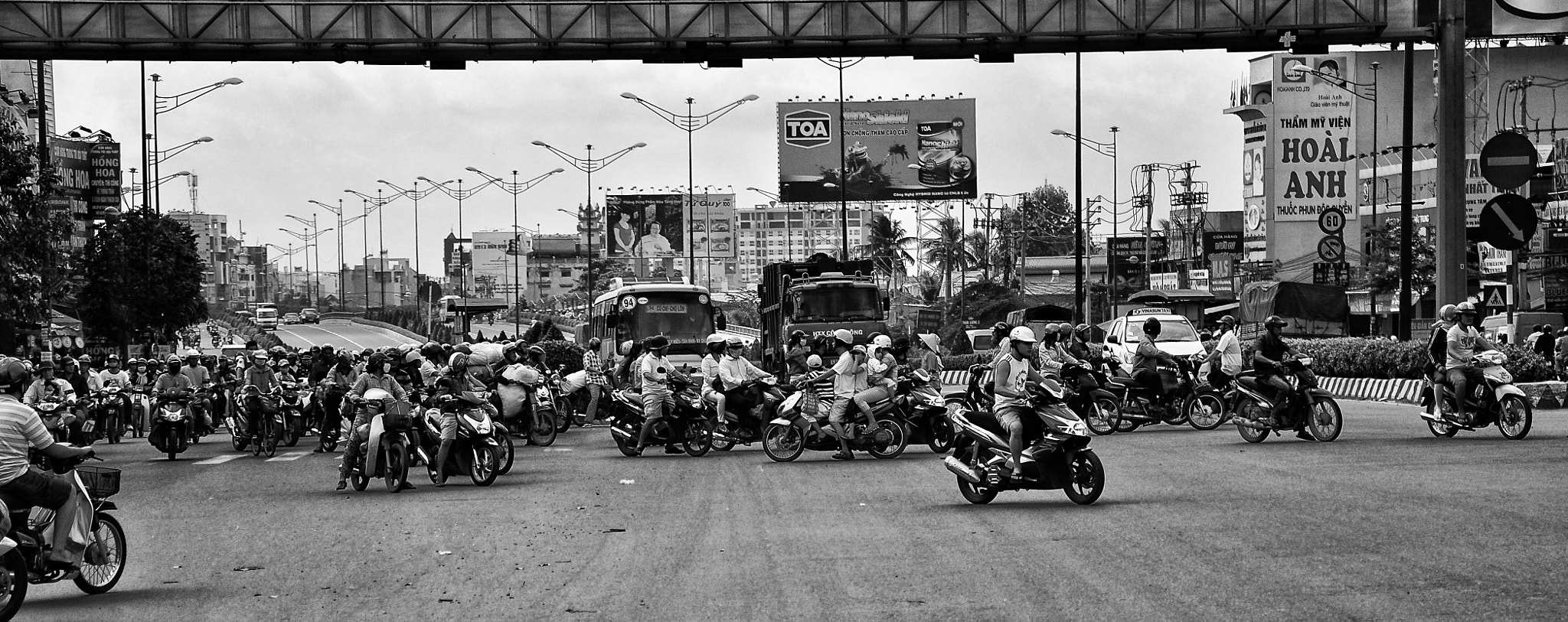 Photograph The Motorbike City - HCM, Vietnam by Rey Talam on 500px