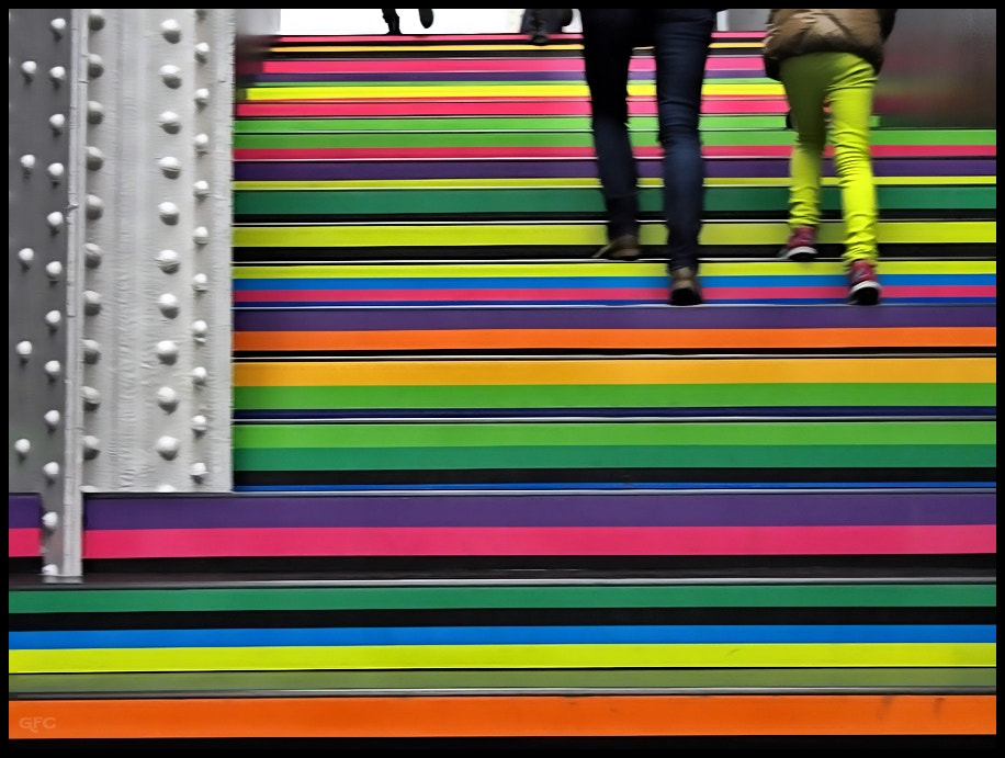Photograph Colors Stairs by Gemma Fernández Cerezo on 500px