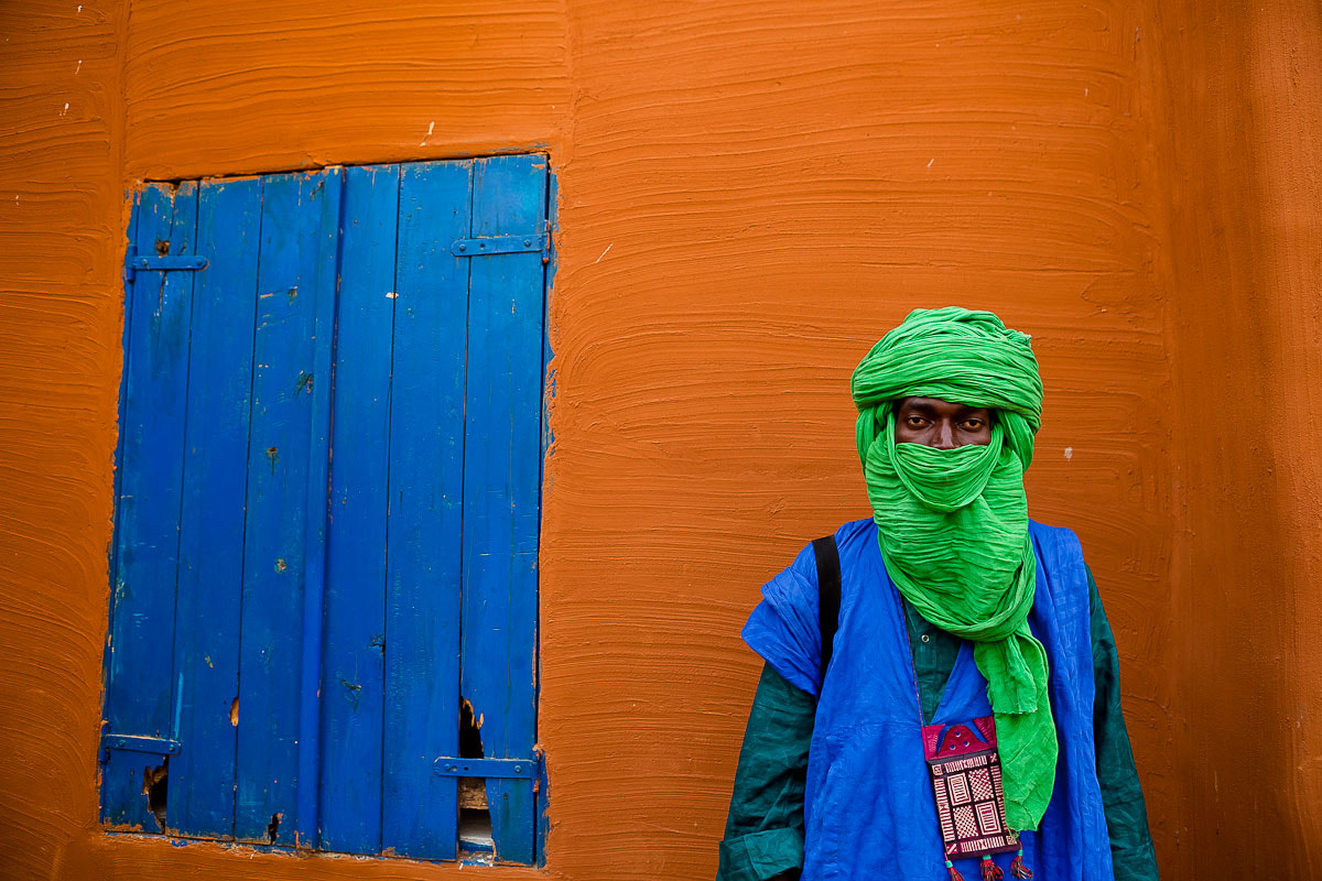 Photograph Portrait of a Tuareg in Segou, Mali by Anthony Pappone on 500px