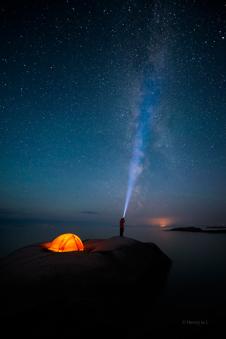 Photograph Shooting the Stars by Henry Liu on 500px