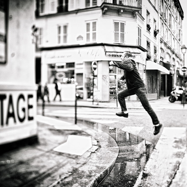 Photograph Jump over the Puddle by Laurent DUFOUR on 500px