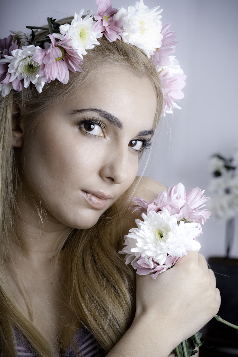 Photograph flower girl by Hristo Dushev on 500px