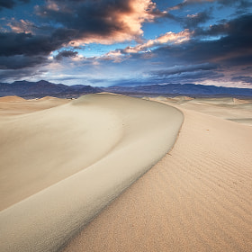 My Playground - Mesquite Sand Dunes, Death Valley National Park, USA by David Thompson (dthompson)) on 500px.com
