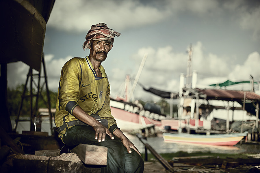 Photograph ship workers by abe less on 500px