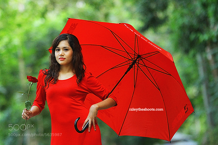 Photograph Lady in Red by R'zleytheshot photography on 500px