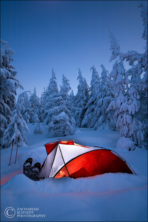 Photograph Winter Camp by Zack Schnepf on 500px