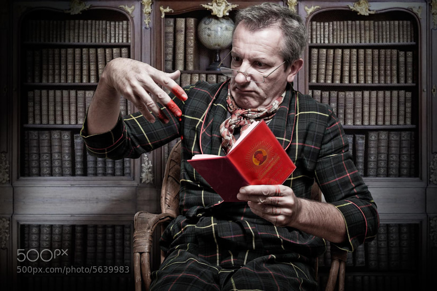 "Photograph Reading ""The little Red book"" (Mao Tze Dong) by Pierre Beteille on 500px"
