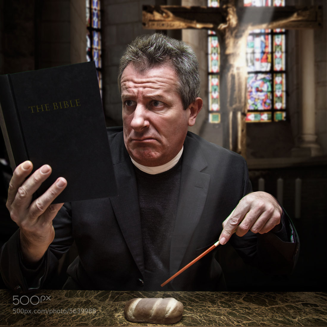 "Photograph Reading ""The Bible"" by Pierre Beteille on 500px"