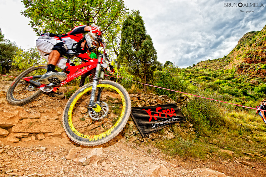 Photograph Nissan European Downhill Cup, Vall d'Uixó (Spain) 2012 by Bruno Almela on 500px