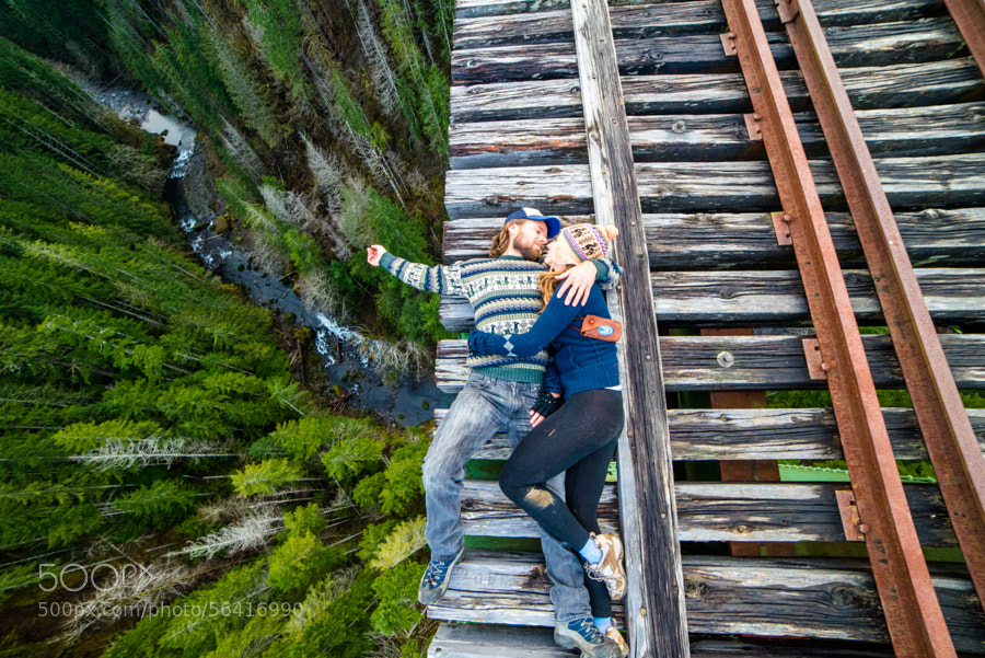 Photograph Big Drop Romance by Isaac Gautschi on 500px