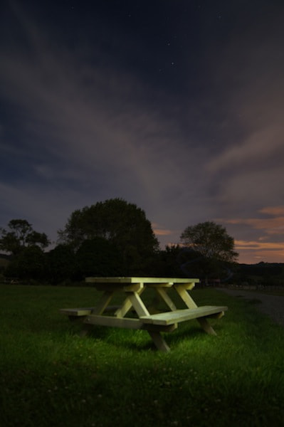Photograph Picnic Table by Keran McKenzie on 500px
