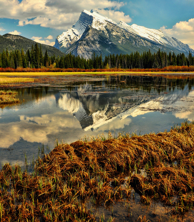 Photograph Mount Rundle Morning by Jeff Clow on 500px
