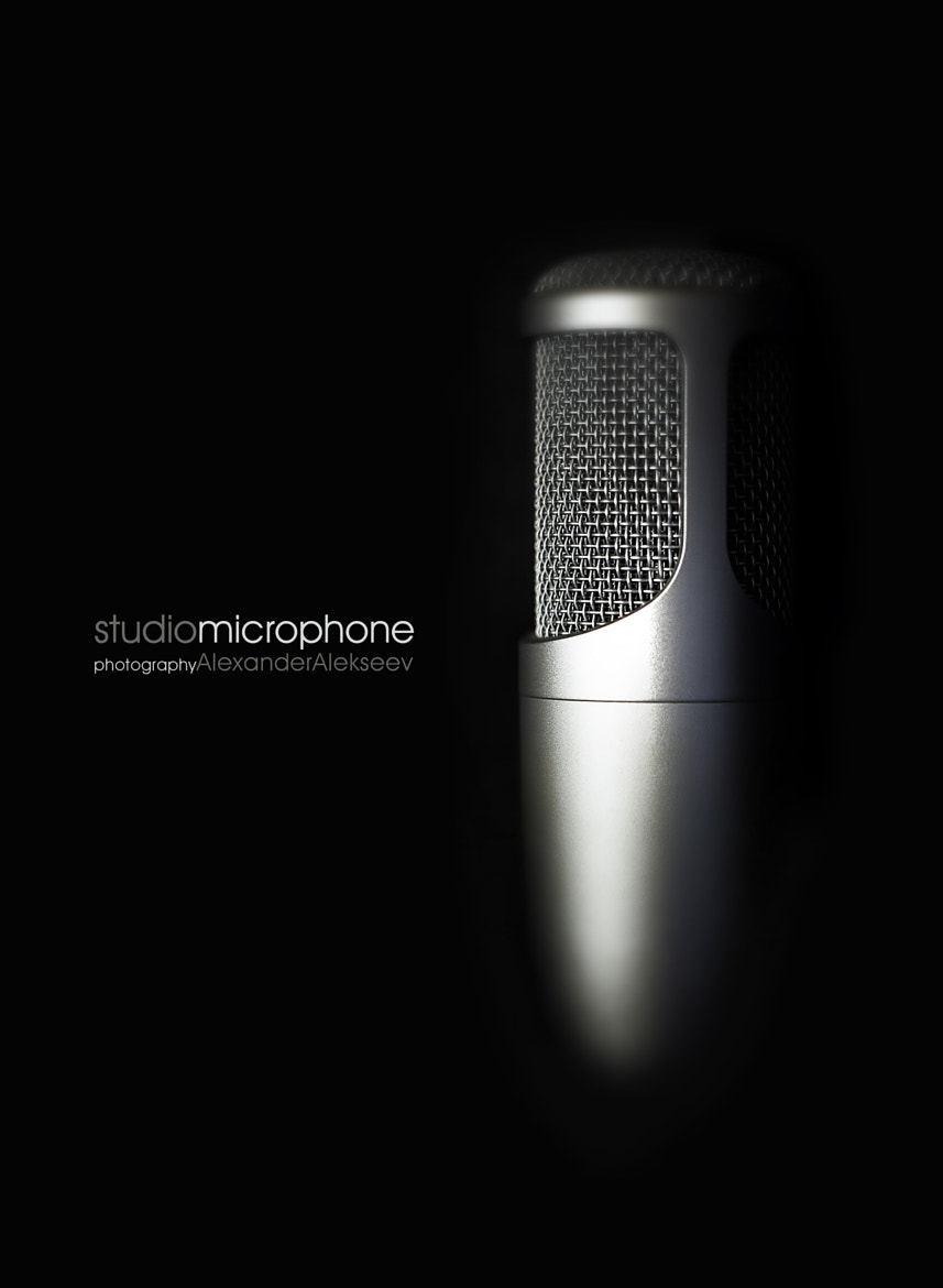 Photograph STUDIO MICROPHONE by Alexander Alekseev on 500px