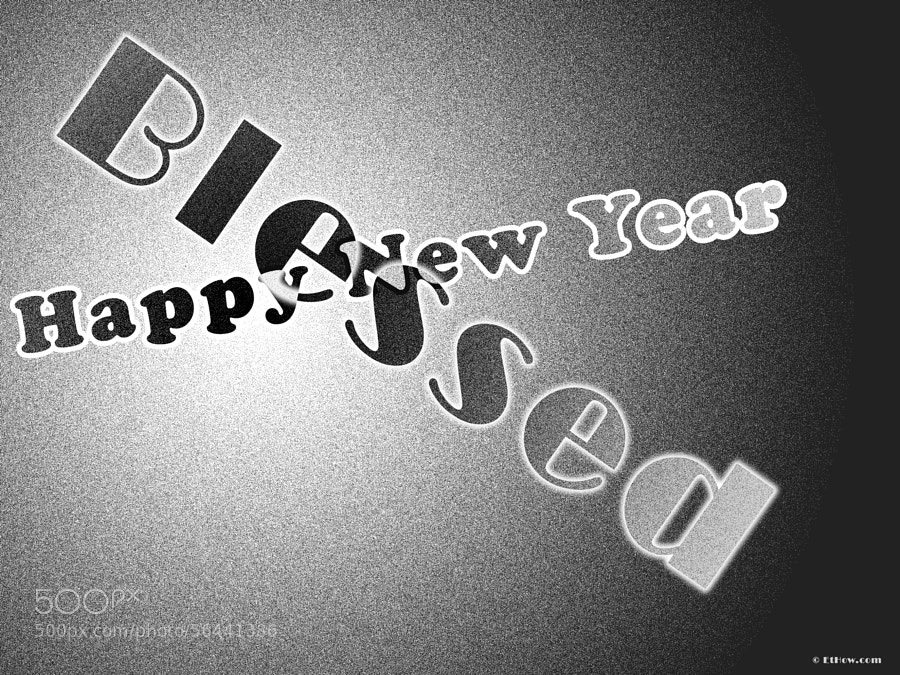 Happy New Year by Waseem Ashraf on 500px.com