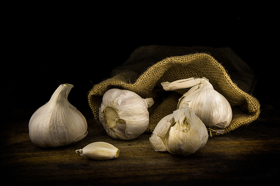 Photograph Garlic bag by Youcef Bendraou on 500px