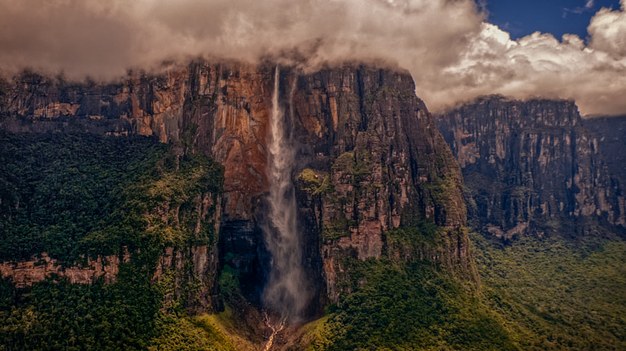 Photograph Angel Falls by David Ruiz Luna on 500px