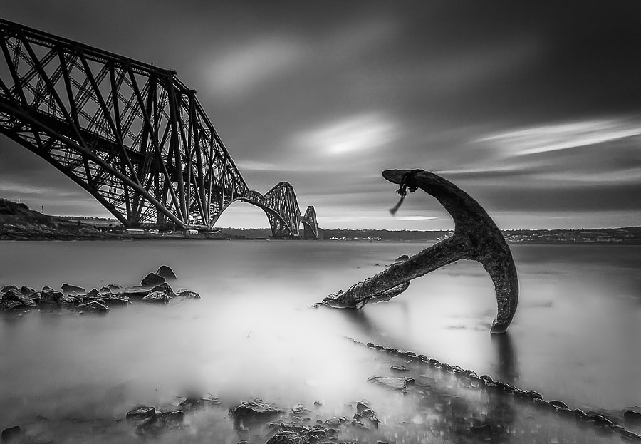 Photograph Forth Rail Bridge Anchor by David Sharman on 500px