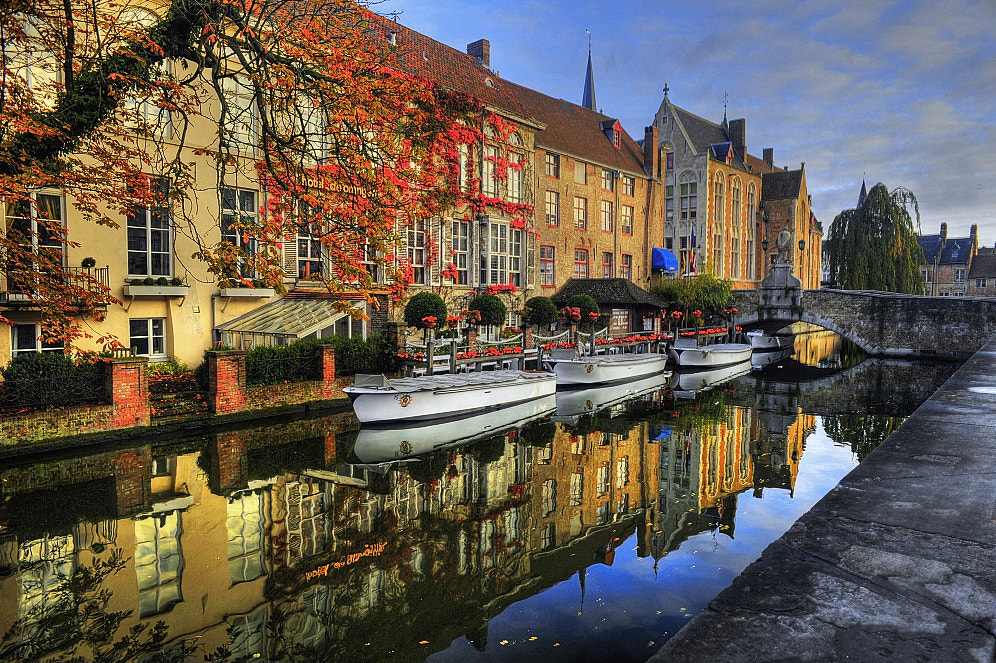 Photograph Bruges Canal by Aubrey Stoll on 500px