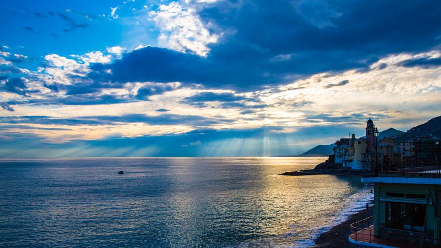 Camogli (Liguria) sun-set