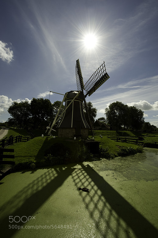 Photograph Dutch Windmill by Arnold Moolenaar on 500px