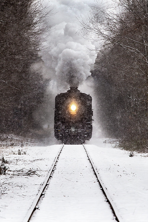 Photograph Winter Train by Jonathan Steele on 500px