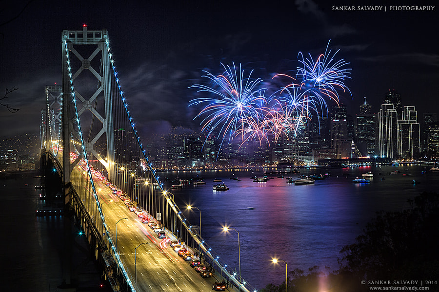 Photograph Happy New Year 2014 by Sankar Salvady on 500px
