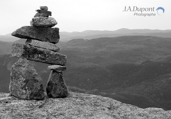 Photograph inukshuk on top of the world by Jacques-Andre Dupont on 500px