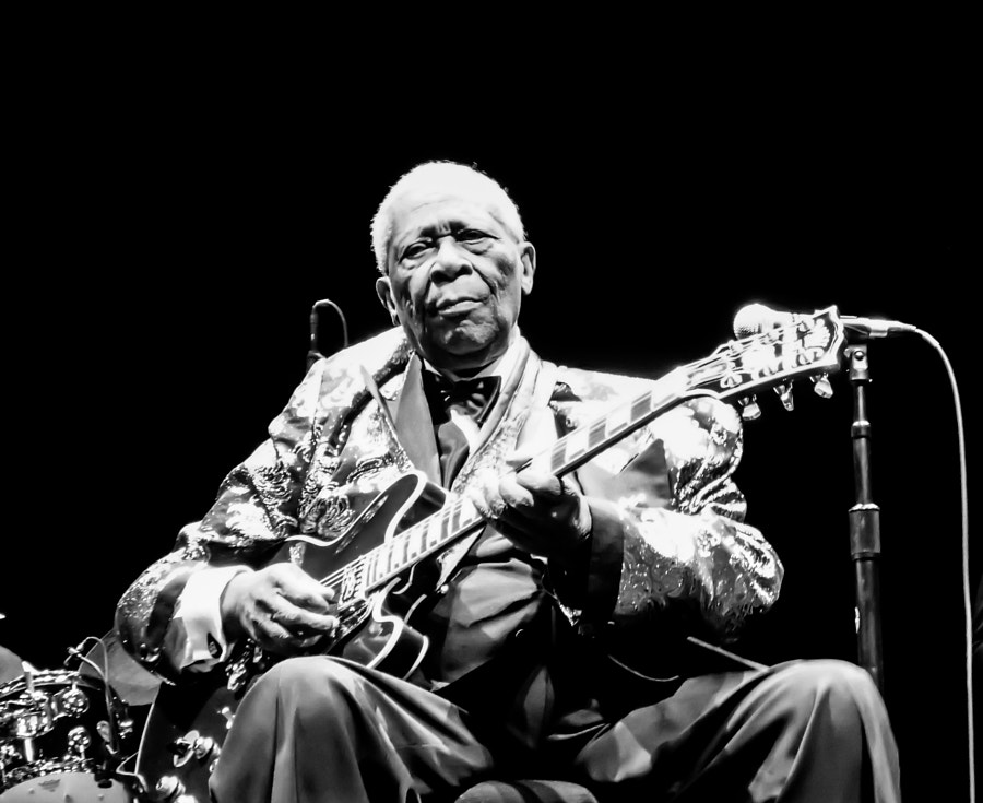 Photograph BB King and Lucille by Chris Tyne on 500px