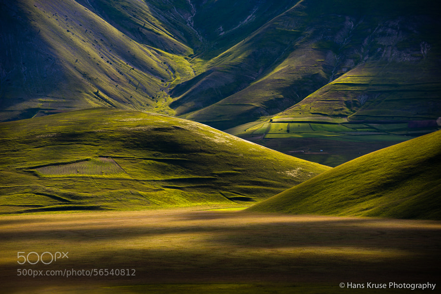This photo was shot in June 2013 during a research trip to Umbria and Castelluccio at Norcia.  There is a new photo workshop in Abruzzo and Umbria in June 2014 which is sold out. Another one in the autumn in October 2014 have space available.