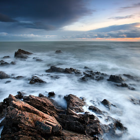 Jagged Coast by Stephen Emerson (stephenemerson)) on 500px.com