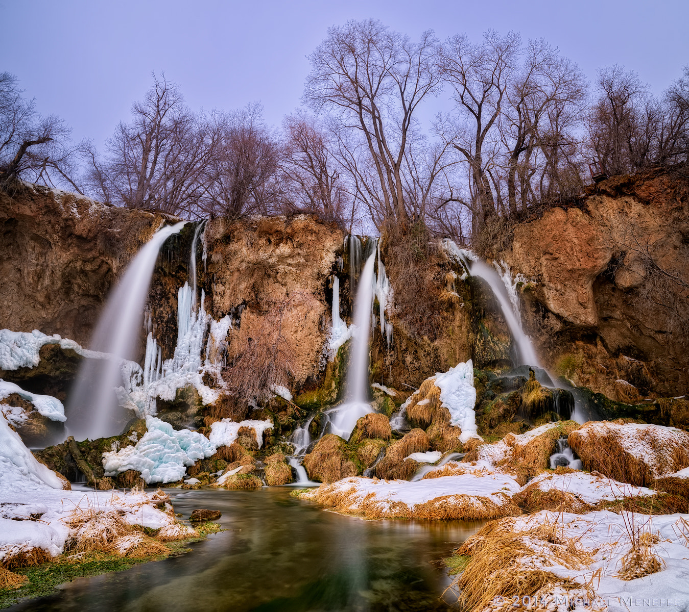 Photograph Winter at Rifle Falls State Park, Colorado by Michael Menefee on 500px